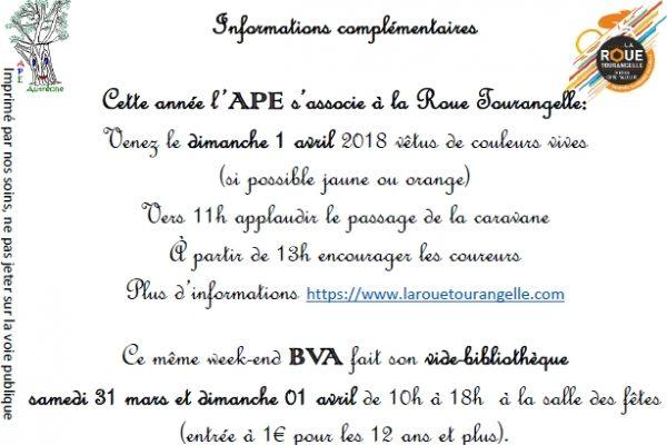 Vide Bibliothèque et Roue Tourangelle